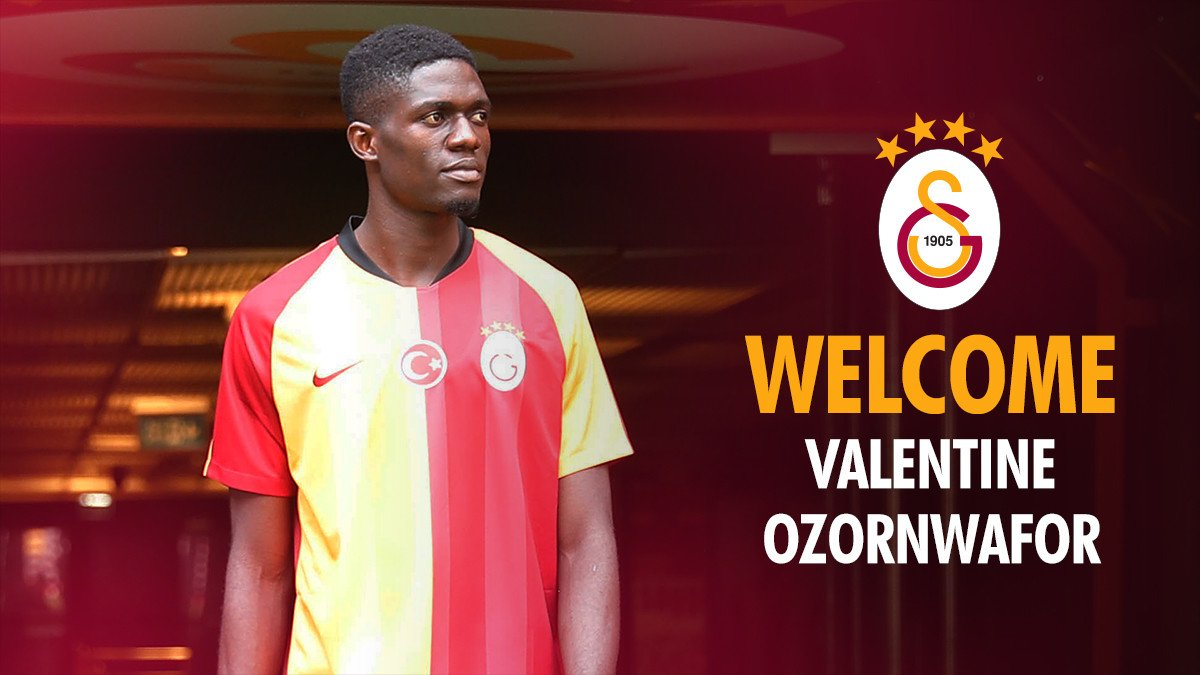 Nigerian Defender Valentine Ozornwafor signs for Galatasaray