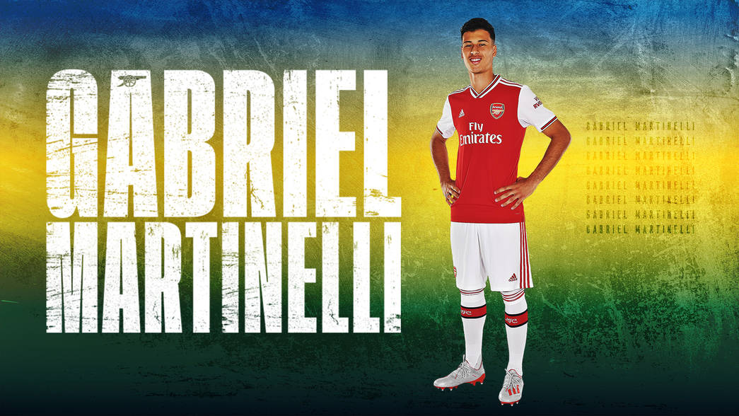 Arsenal complete signing of Teenage Brazilian Sensation Gabriel Martinelli