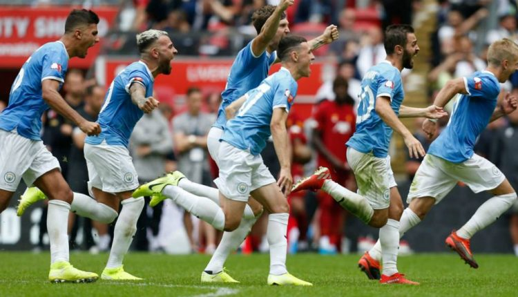 Manchester City defeat Liverpool on Penalties to lift Community Shield