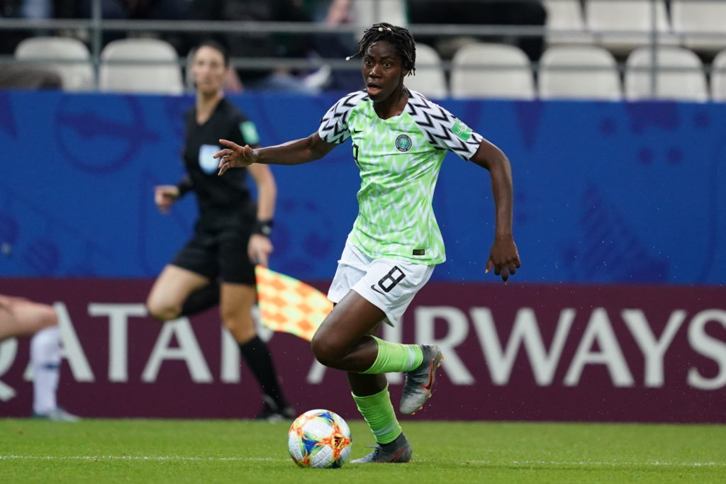 Asisat Oshoala says Equal Pay shouldn't be priority for Female Footballers in Africa