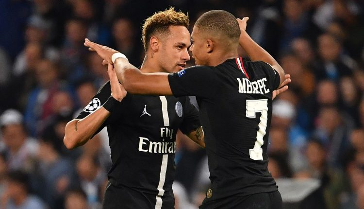 Mbappe urges Neymar to stay at PSG