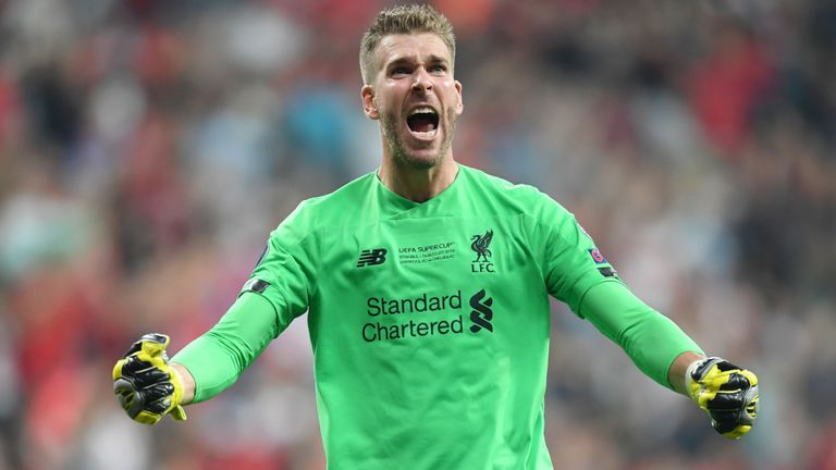 Liverpool facing Squad Crisis after Goalkeep Adrian is ruled a doubt for Saturday Game